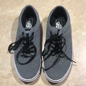 Vans Heathered Gray Classic Sneakers 10.5